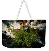 Waterfall Flowers Weekender Tote Bag
