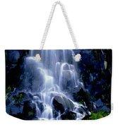 Waterfall Flowing And Ebbing Weekender Tote Bag