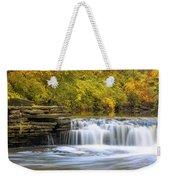 Waterfall Glen, Lemont, Il Weekender Tote Bag