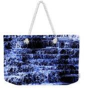 Waterfall In Blue Weekender Tote Bag