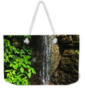 Waterfall In Forest Weekender Tote Bag
