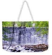 Waterfall In Gladwyne Weekender Tote Bag