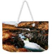 Waterfall In Glencoe Weekender Tote Bag