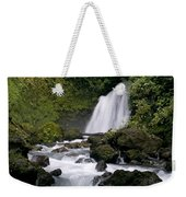 Waterfall In La Fortuna Weekender Tote Bag