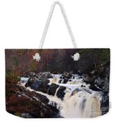 Waterfall In Scotland Weekender Tote Bag