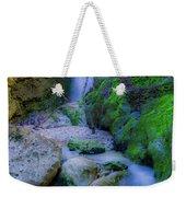 Waterfall In Soft Dream. Weekender Tote Bag