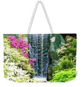 Waterfall In Spring Weekender Tote Bag