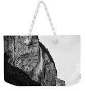 waterfall in Switzerland Weekender Tote Bag