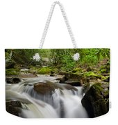 Waterfall In The Forest Weekender Tote Bag