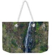 Waterfall In The Intag 2 Weekender Tote Bag