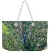 Waterfall In The Intag 4 Weekender Tote Bag