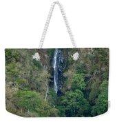 Waterfall In The Intag 6 Weekender Tote Bag