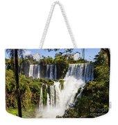 Waterfall In The Jungle Weekender Tote Bag