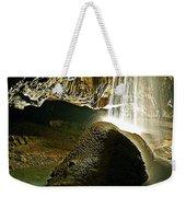 Waterfall Of The Caverns Weekender Tote Bag
