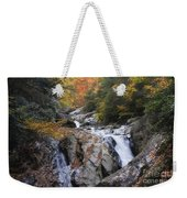 Waterfall Off Blue Ridge Parkway Weekender Tote Bag