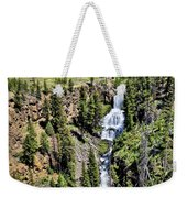 Waterfall On Lava Creek 1 Weekender Tote Bag