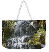 Waterfall On Mount Ranier Weekender Tote Bag