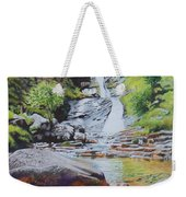 Waterfall On Skye 2 Weekender Tote Bag