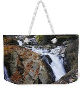 Waterfall On West Fork French Broad River Weekender Tote Bag