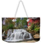 Waterfall Painting Weekender Tote Bag