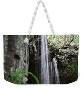 Waterfall Portrait Weekender Tote Bag