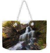Maine Waterfall Weekender Tote Bag