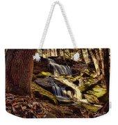 Waterfall Through The Trees Weekender Tote Bag