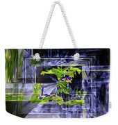 Waterfall Vortex Weekender Tote Bag