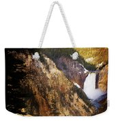 Waterfall Yellowstone 2 Weekender Tote Bag