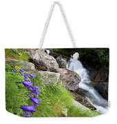 Waterfalls And Bluebells Weekender Tote Bag