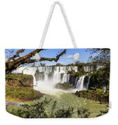 Waterfalls In Frame Weekender Tote Bag
