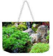 Waterfalls In Japanese Garden Weekender Tote Bag