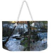 Waterfalls In Morning Weekender Tote Bag
