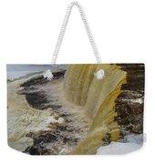 Waterfalls Upper Tahquamenon -6049 Pure Michigan Weekender Tote Bag