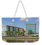 Waterfront Hotel Weekender Tote Bag