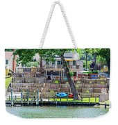Waterfront Landscaping Weekender Tote Bag