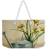 Watering Can Weekender Tote Bag