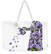 Watering Flowers Weekender Tote Bag