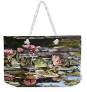 Waterlilies Tower Grove Park Weekender Tote Bag