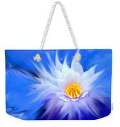 Waterlillies Transformed Weekender Tote Bag