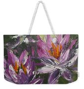 Waterlilly Weekender Tote Bag