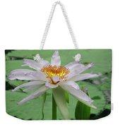 Waterlily Weekender Tote Bag