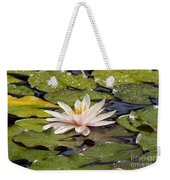 Waterlily On The Water Weekender Tote Bag