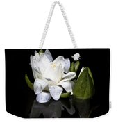 Waterlily  Reflection Weekender Tote Bag
