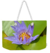 Waterlily Shadow Of Perfection Weekender Tote Bag