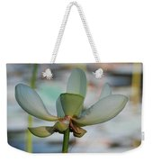 Waterlily Wash  Vertical Weekender Tote Bag