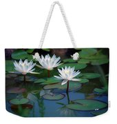 Waterlilys Weekender Tote Bag
