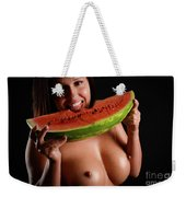 Watermellon Weekender Tote Bag
