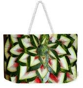 Watermelon Art Weekender Tote Bag