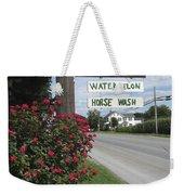 Watermelon Horse Wash Weekender Tote Bag
